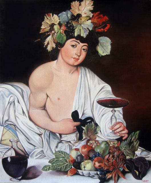 Angela Pipoli Caravaggio - Bacco