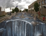 3d-chalk-art-waterfall-parking-lot-edgar-mueller