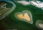 Heart in Voh in Noua Caledonie