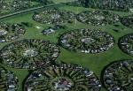 Cartiere rezidentiale la periferia orasului Copenhaga, Danemarca
