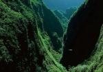 Bras de Caverne, insula Reunion